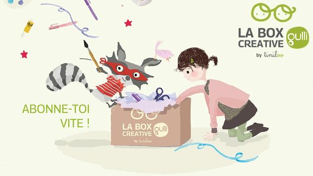 La box créative Gulli by Tiniloo