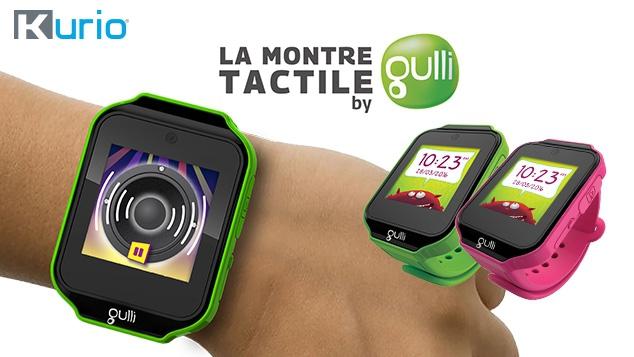 La montre tactile by Gulli