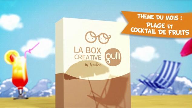 Box Créative Gulli by Tiniloo