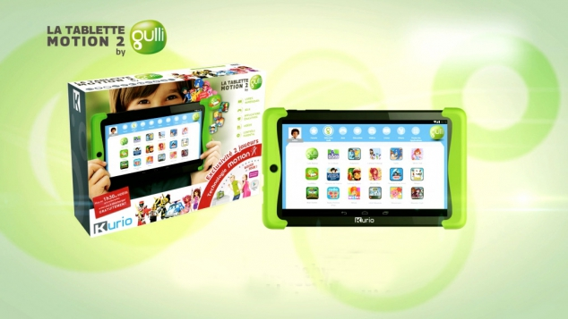Ta nouvelle tablette Motion 2 by Gulli
