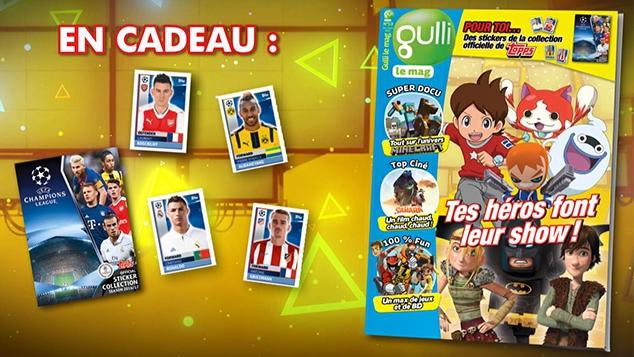 Ton nouveau magazine Gulli Le Mag est arrivé !