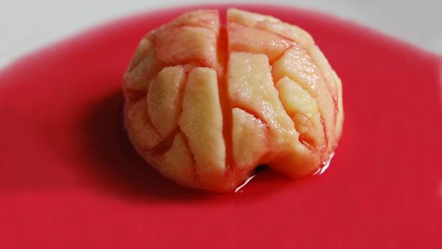 Cervelle Sanglante - recette d'Halloween