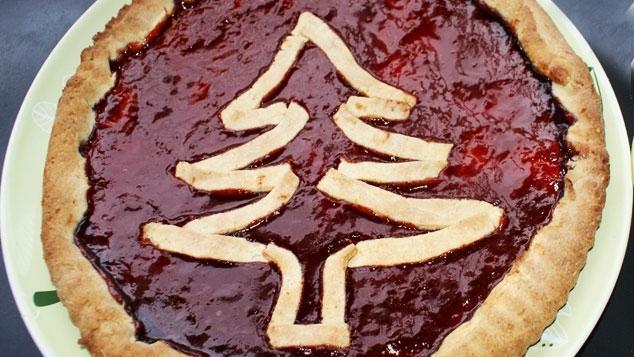 Tarte du Père Noël - recette de Noël