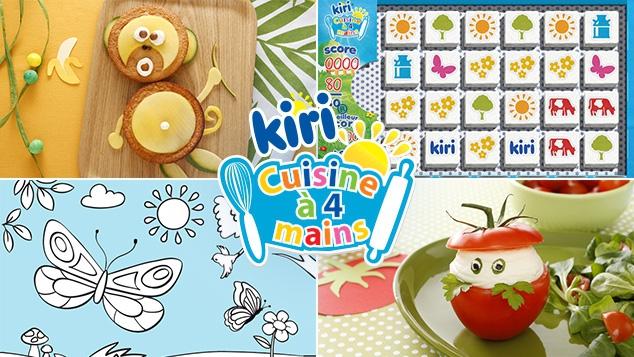 Jeux, Coloriages, Recettes Kiri ® sur gulli.fr