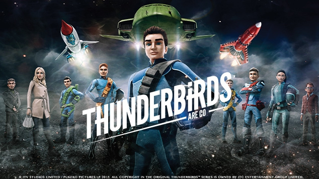 Thunderbirds - les Sentinelles de l'air sur Gulli