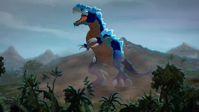 Dinofroz sur Gulli
