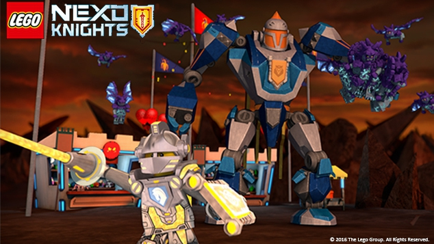 les chevaliers NEXO Knights™