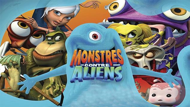 Monstres Contre Aliens sur Gulli