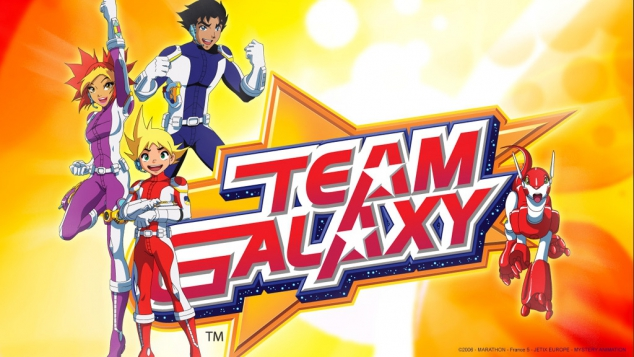 Team Galaxy sur Gulli