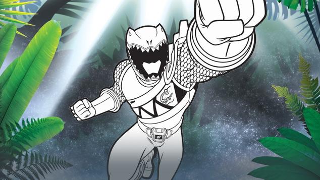 Power Rangers Dinocharge !