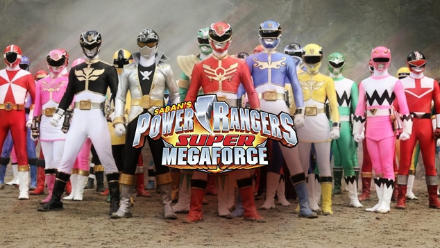 Power Rangers Super Megaforce - Les épisodes
