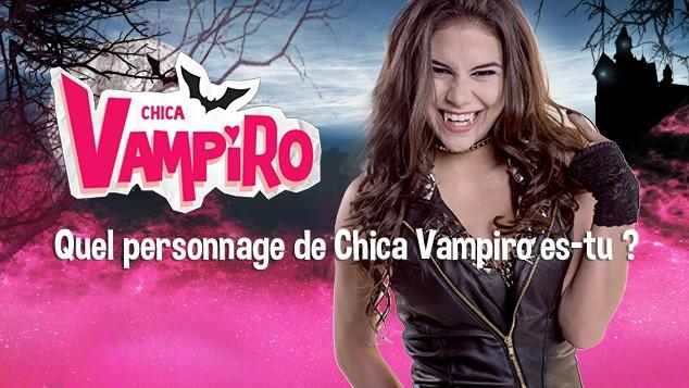 Chica vampiro test de personnalité