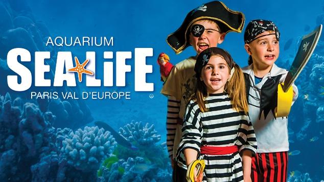 L'exposition « Pirates tous à l'abordage » à l'Aquarium Sealife