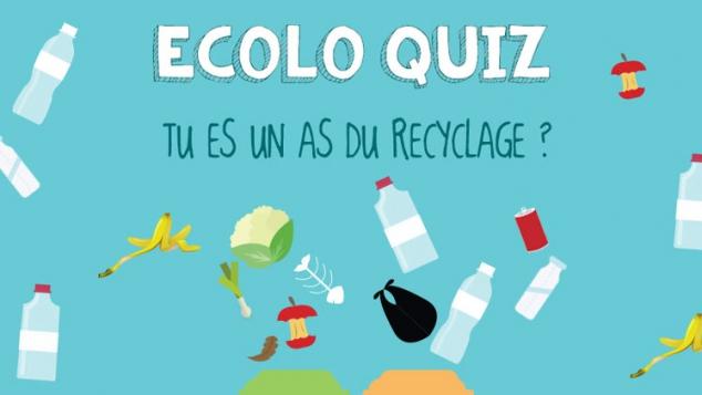 quiz recyclage des déchets