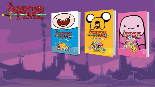 Adventure Time la BD !