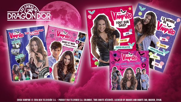 Chica Vampiro : les livres d'activités !