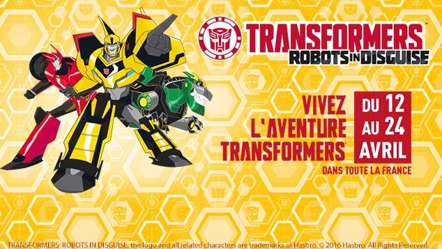 La Tournée Transformers !