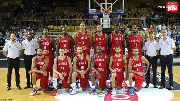 L'équipe de France de basket au Championnat d'Europe 2015