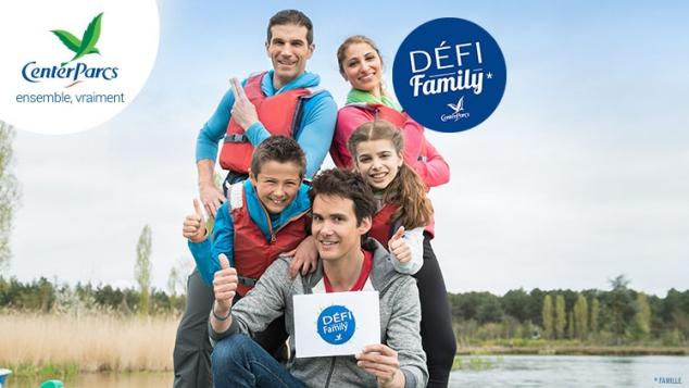 DÉFI FAMILY CENTER PARCS