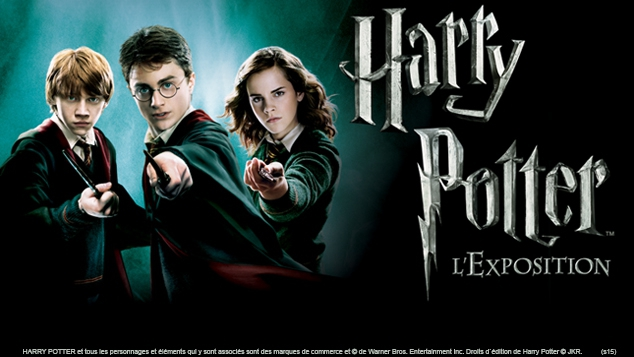 Harry Potter : l'exposition