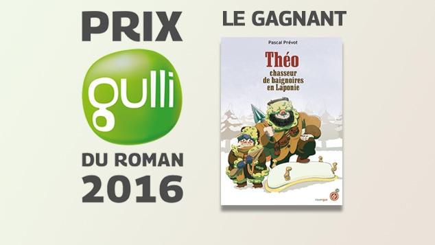 Prix Gulli du Roman : le gagnant !