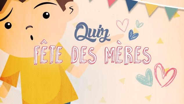 Quiz Fête des mères sur Gulli.fr