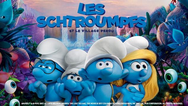 Les Schtroumpfs sont de retour au cinéma !