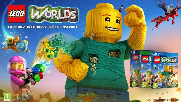 Découvre le jeu LEGO® Worlds !