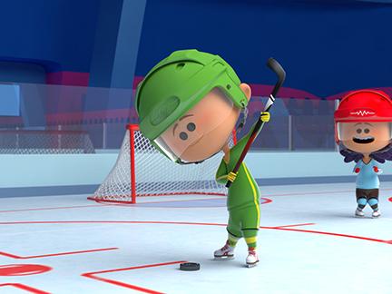 Hockey sur glace saison 1 images bande de sportifs dessins anim s la t l - Dessin hockey sur glace ...