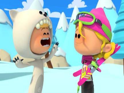 enfants, ski, sport, bande de sportifs, émission, série, canal j