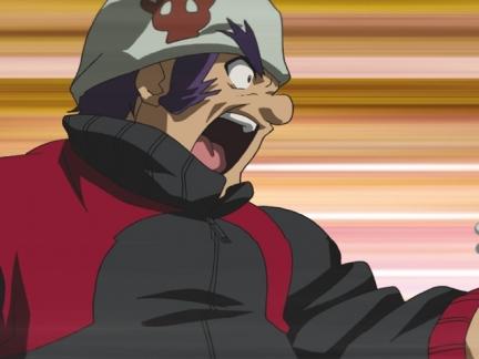 Benkei en pleine attaque