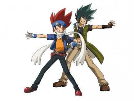 Gingka et Kyoya