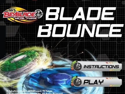 Blade Bounce - jeu Beyblade