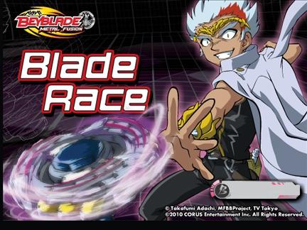 Blade race - jeu Beyblade