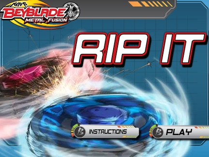 Rip  it !  - Jeu Beyblade