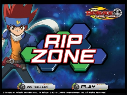 Rip Zone - jeu Beyblade