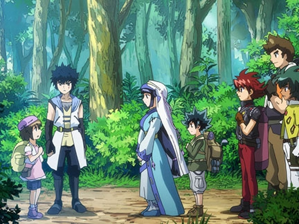 Rencontre dans la forêt