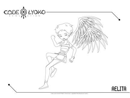 Goodies code lyoko evolution dessins anim s la t l - Coloriage de code lyoko ...