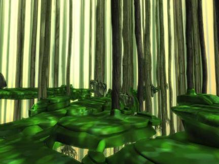 Code Lyoko, Forêt