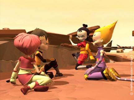 Héros dans le désert
