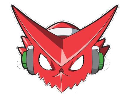 masque shoutmon activit233s goodies digimon fusion
