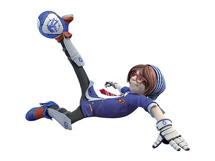 Joey la team personnages foot 2 rue extr me dessins anim s la t l - Coloriage foot de rue extreme ...
