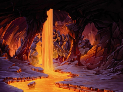 le volcan - Gormiti