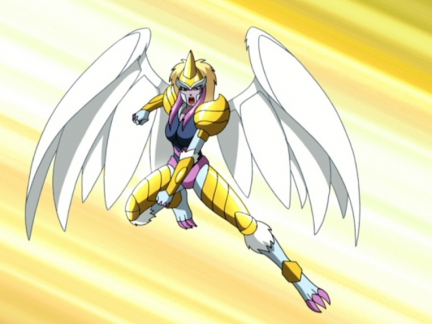 Le Seigneur de l'Air en armure d'or - Gormiti