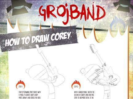 Comment dessiner Corey