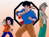 La troupe de Super Jade
