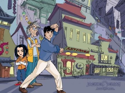 Fond d'écran Jackie Chan