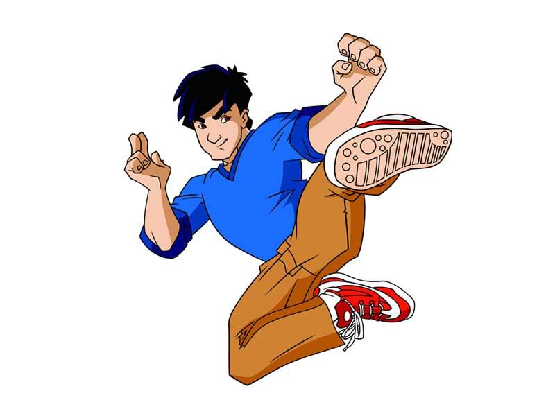 حصرياً تحميل مسلسل الأكشن والكوميديا الرائعة من جاكي شان JACKIE CHAN ADVENTURES مدبلج  Jackie-Chan