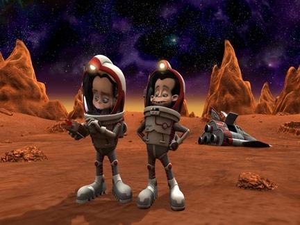 Jibber Jabber, Mission sur Mars