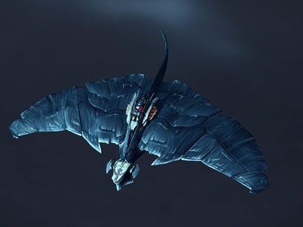 Le vaisseau-dragon
